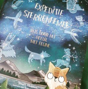 Vertaling 'Expeditie sterrenhemel', Stuart Atkinson en Brendan Kierney (ill.), BIS Publishers 2018