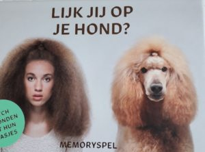 Vertaling kwartetspel 'Lijk jij op je hond?', Gerrad Gethings, Mark Edmonds (tekst), BIS Publishers 2019.